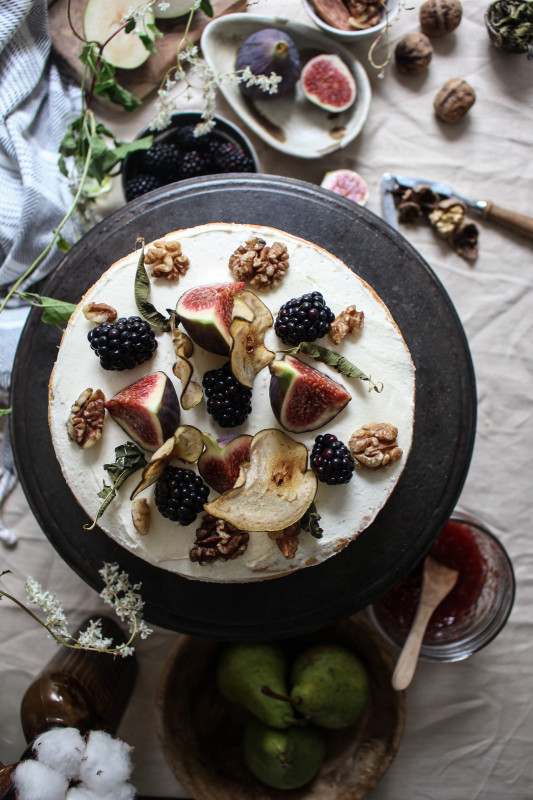 blackberry pear and walnut cake with fig verbina jam-1-37
