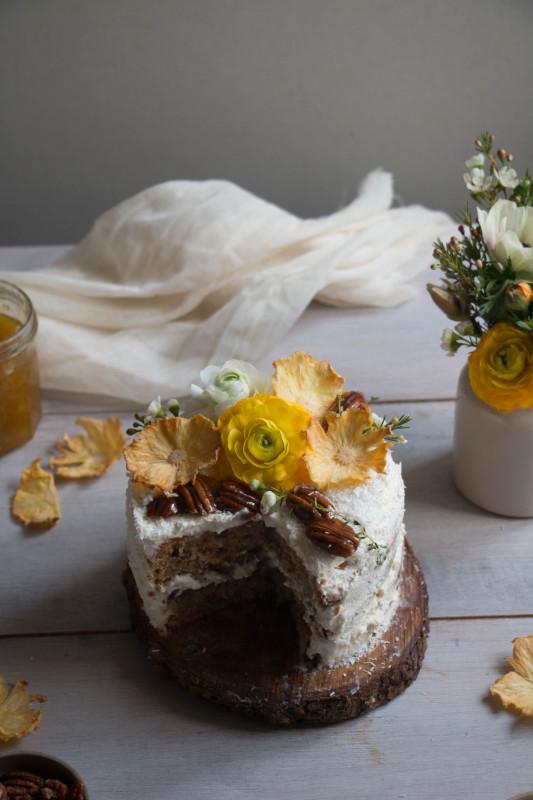 hummingbird cake with pineapple lime jam-1-12