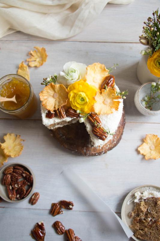 hummingbird cake with pineapple lime jam-1-16