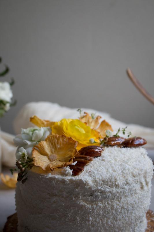 hummingbird cake with pineapple lime jam-1-2