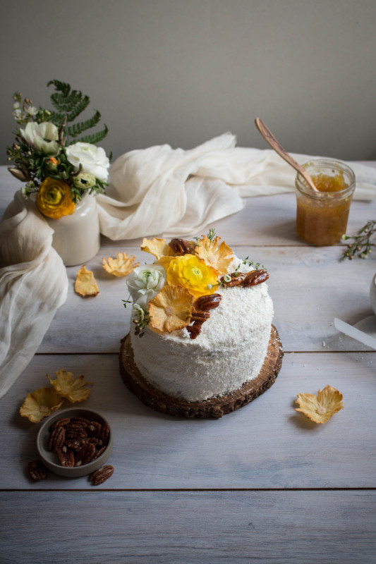 hummingbird cake with pineapple lime jam-1-3