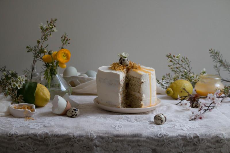lemon poppy seed cake with honey black tea frosting-1-6
