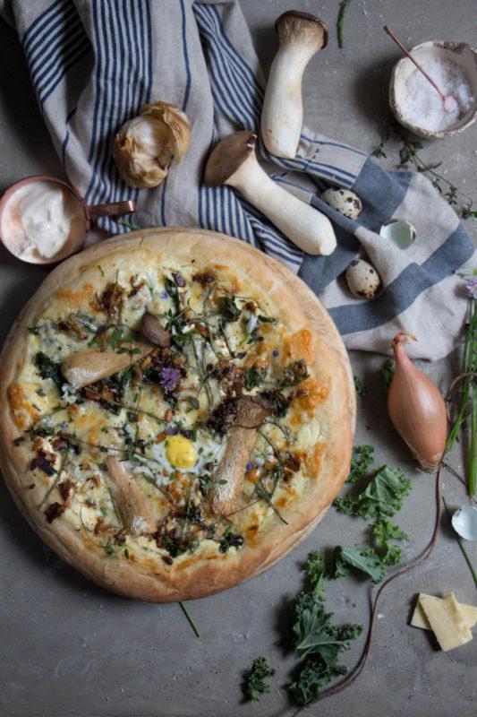 garlic mushroom pizza-1-2