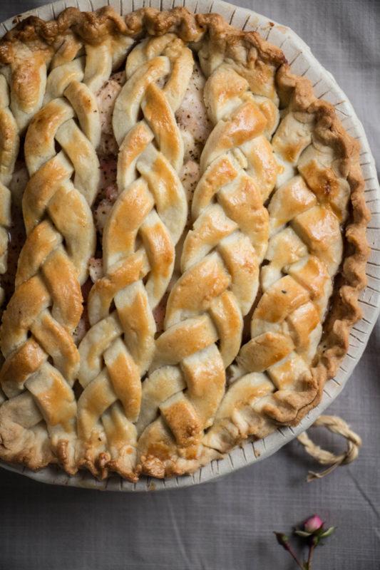 peach tea pie and rose icecream-1-12