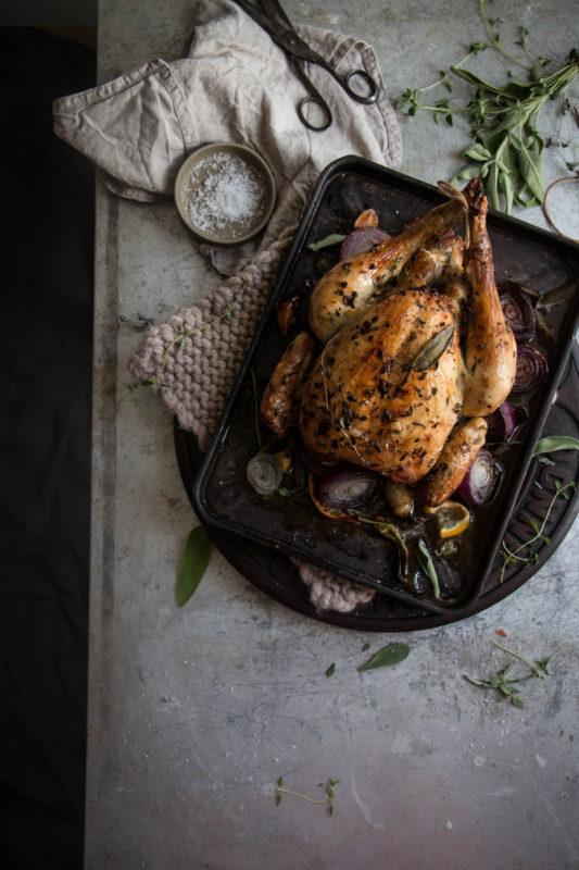 roast chicken -1-7