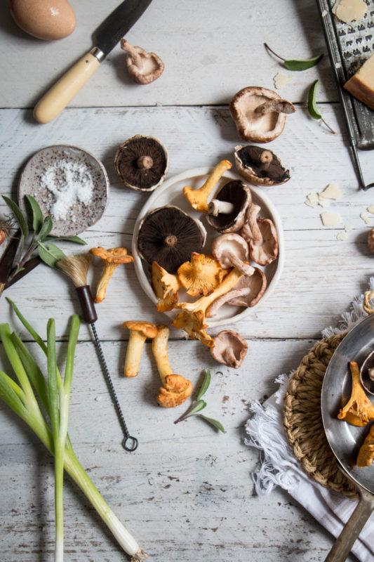savoury dutch baby pancake with creamy mushrooms-1-10
