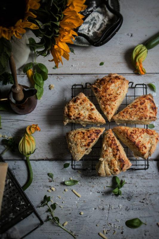 cheese and zucchini buttermilk scones-1-1