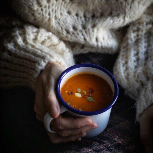 mug of soup
