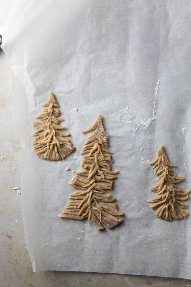 gingerbread tree step 10