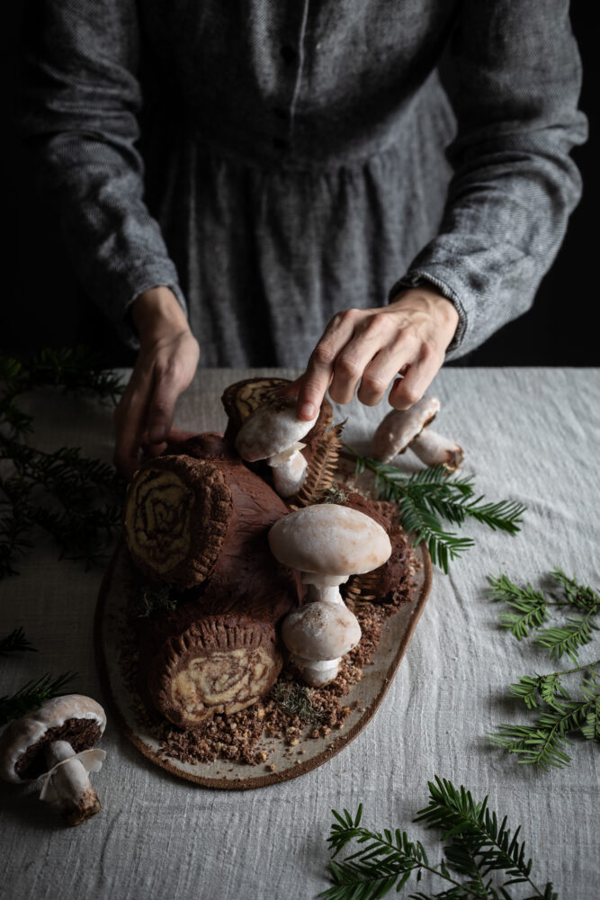 gingerbread mushrooms