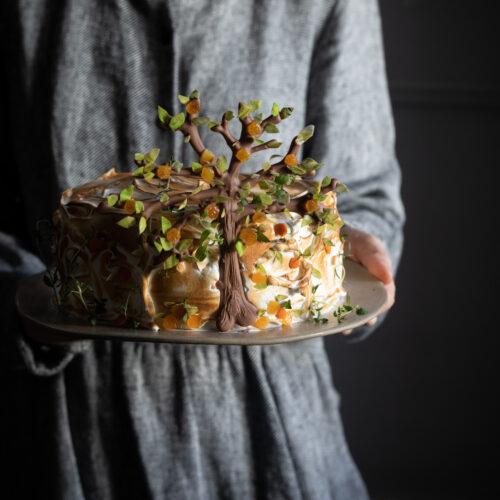 citrus tree cake