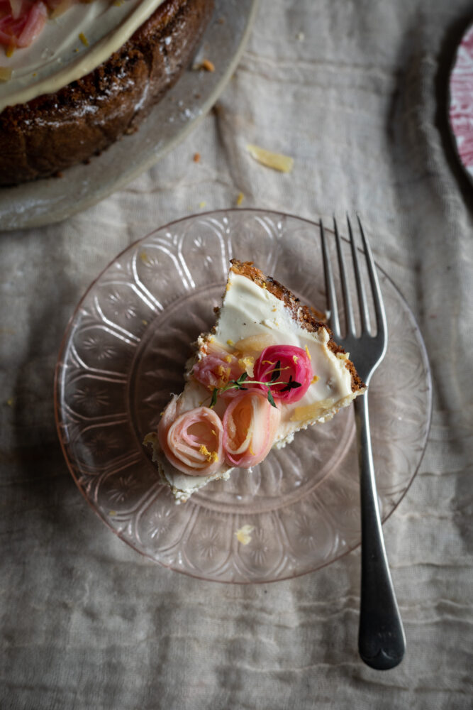 stem ginger cheesecake