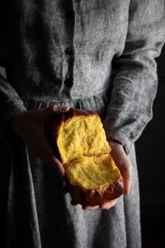 saffron milk bread