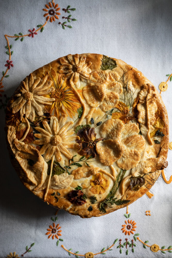 flower pie