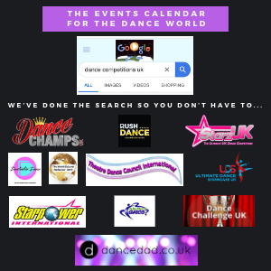 list of dance events