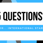5 Questions… for International Stars!