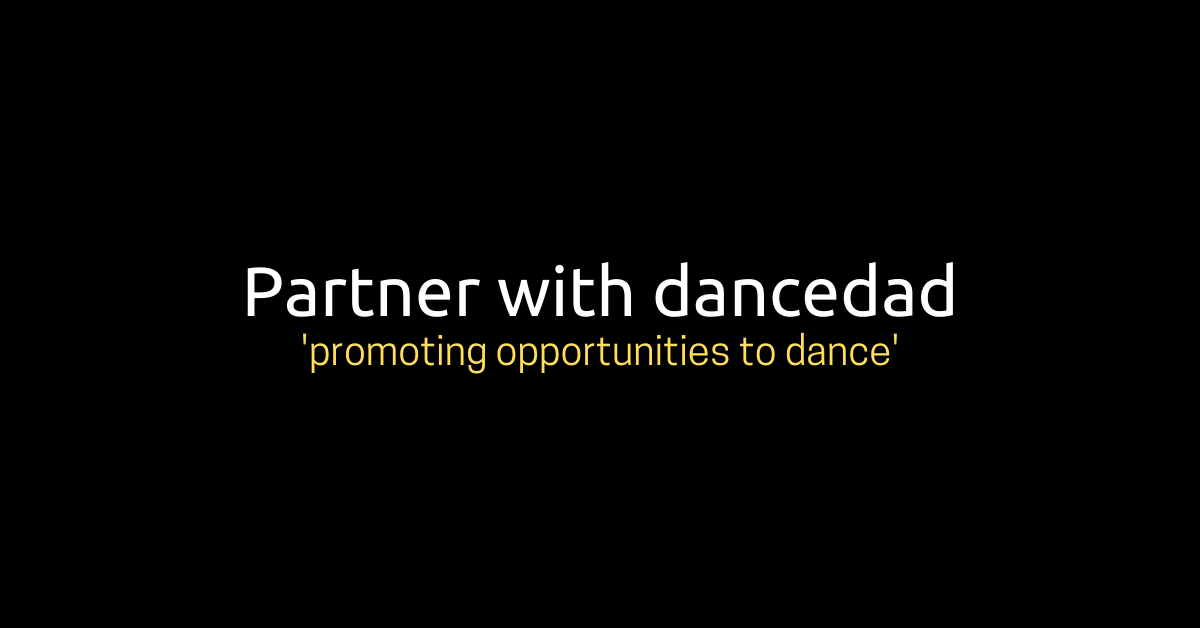 partner with dancedad slide