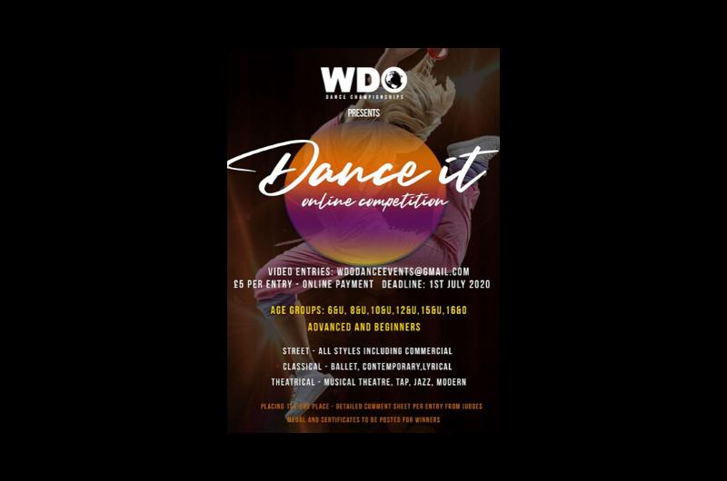 WDO Dance It Logo