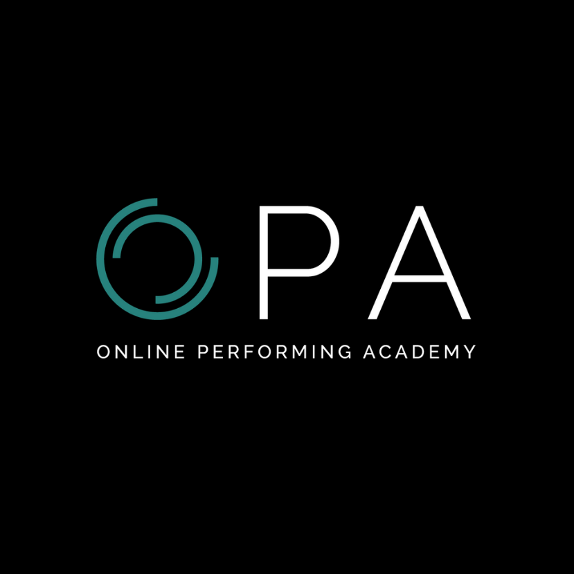 Online Performing Academy Logo
