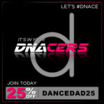 Sign Up to DNACERS with dancedad.co.uk