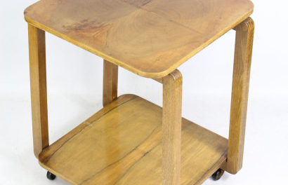 Art Deco Satinwood Side Table