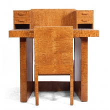 Art Deco Ladies Writing Desk and Chair