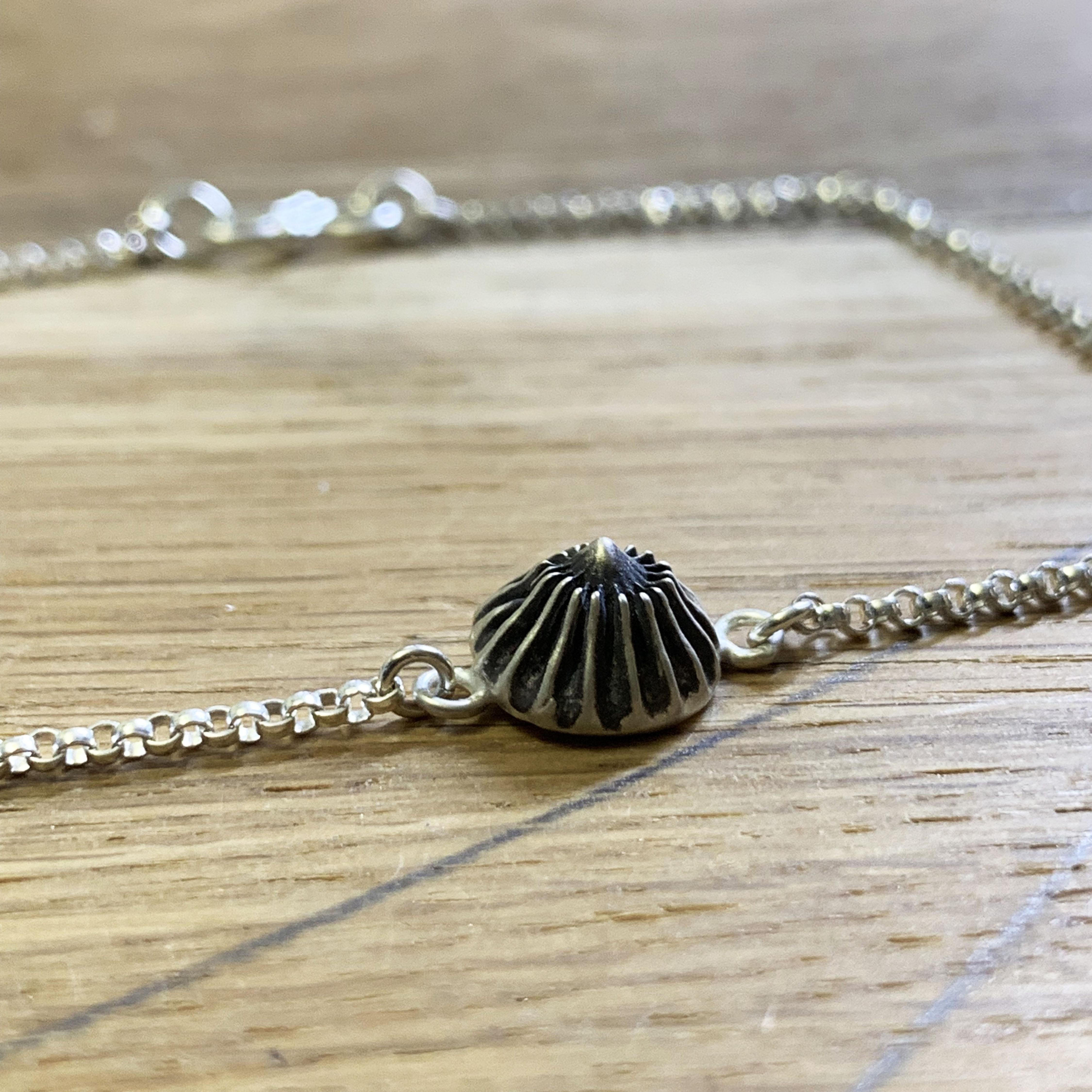 Urchin silver bracelet