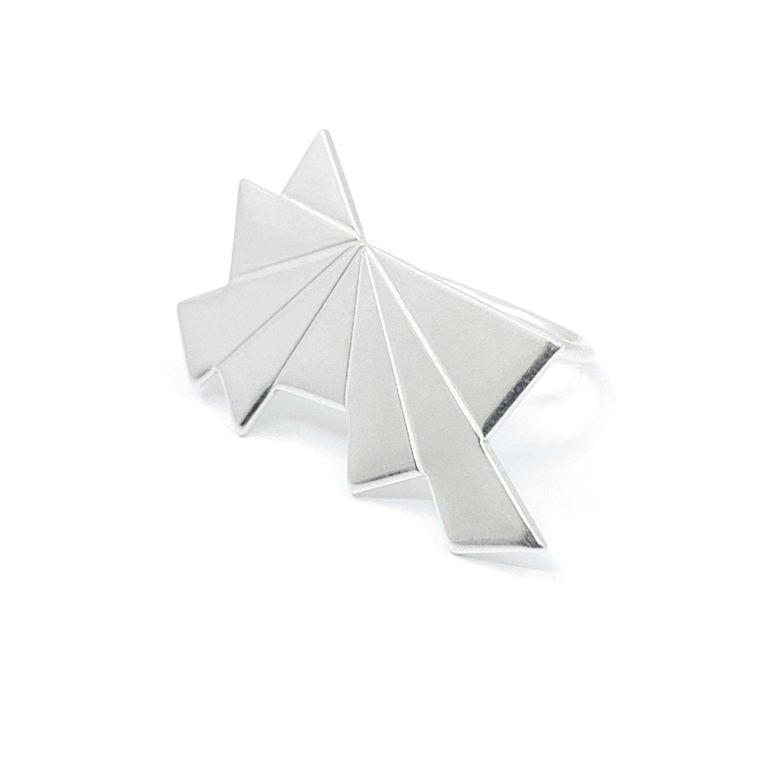 Dawn statement silver ring