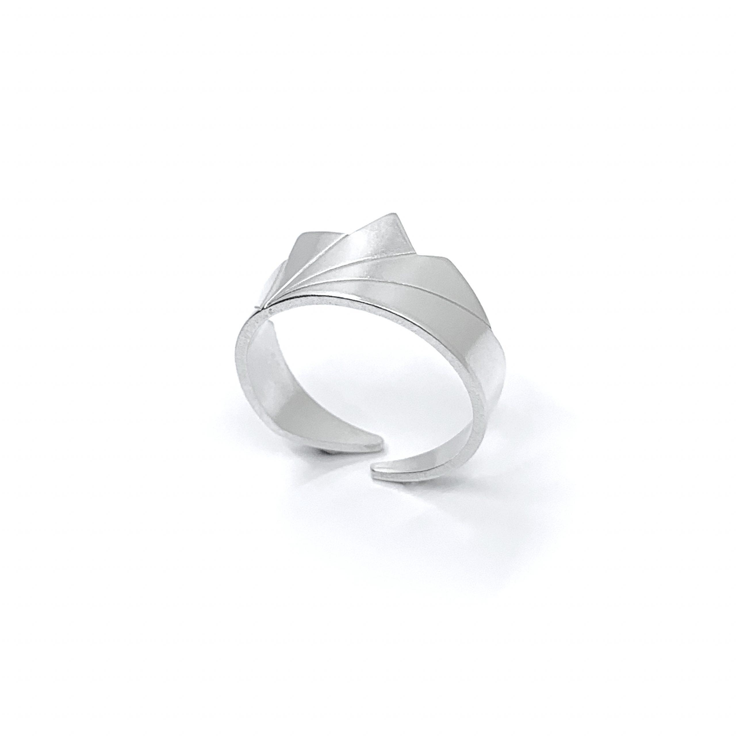 Dawn silver ring