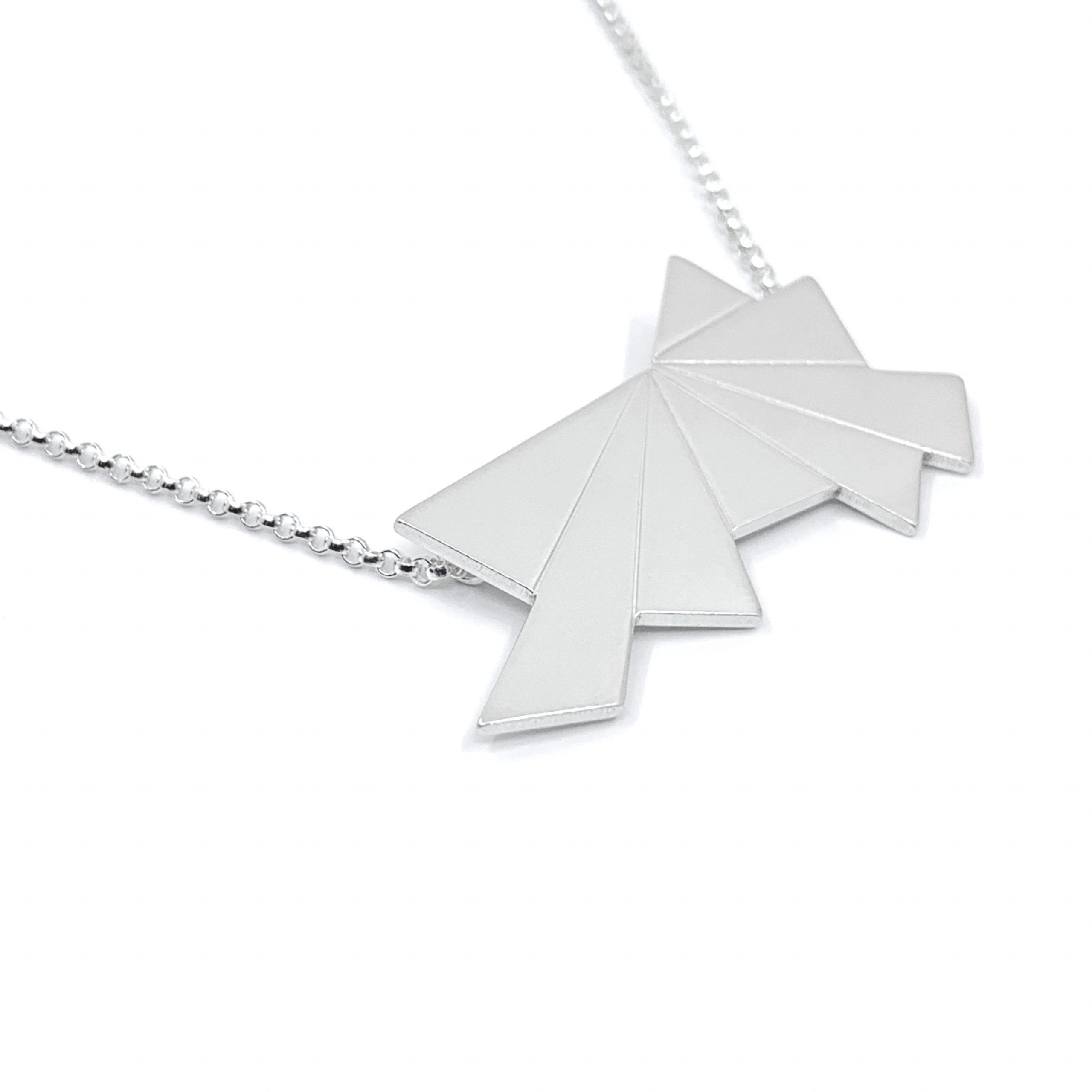 Dawn silver necklace