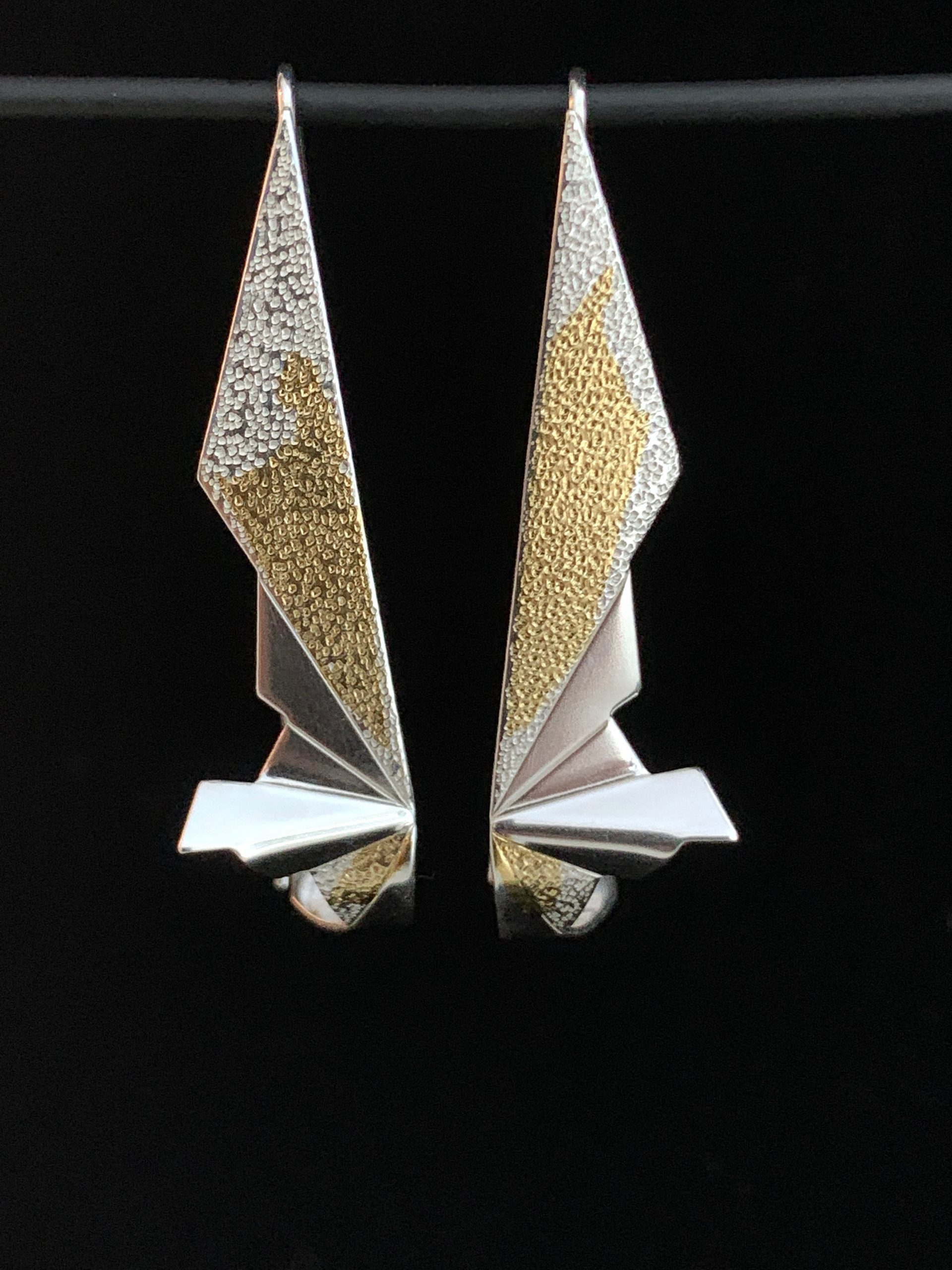 Papilionidae earrings OAK