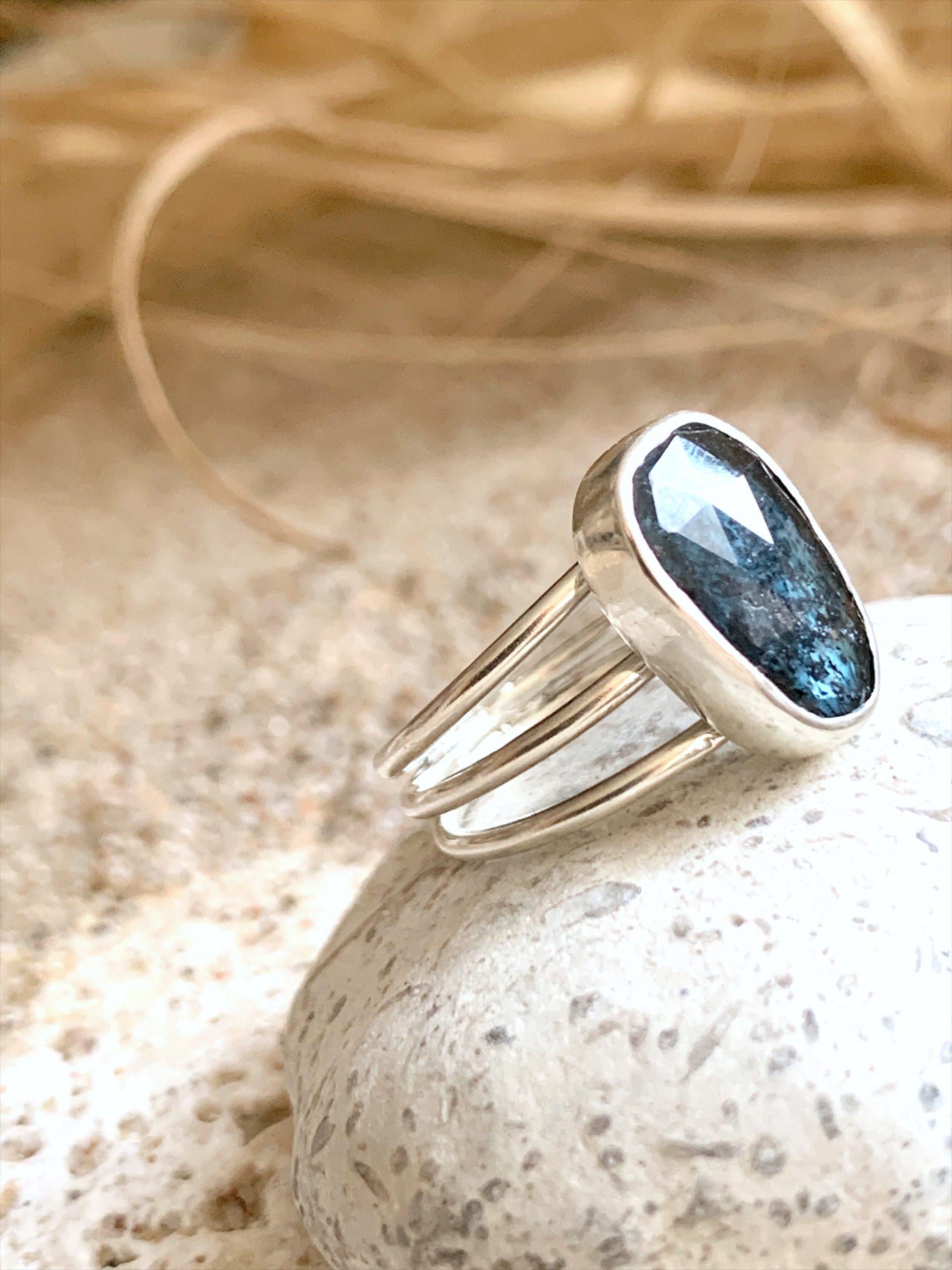 Sunshine kyanite ring size US 6,5 OAK no3