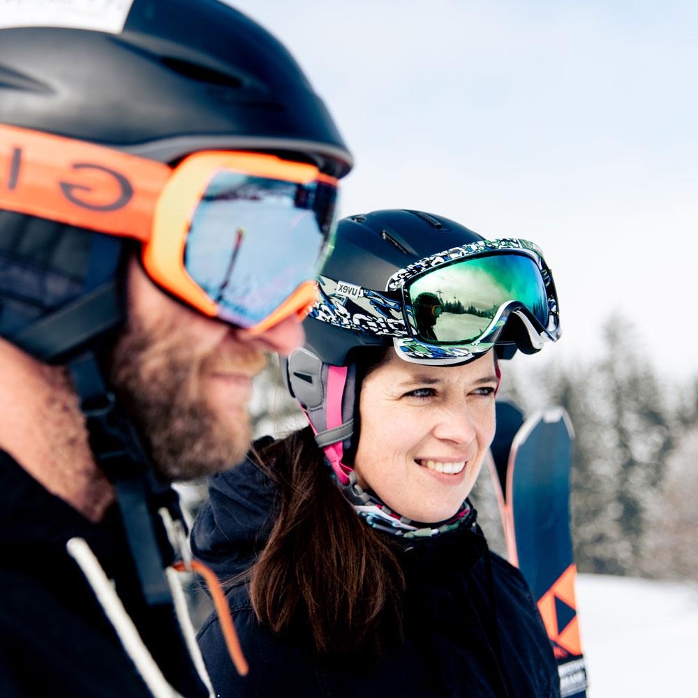 Marcus und Katrin von Dein Skicoach