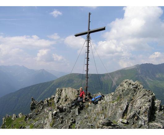Gipfelkreuz vom Auernig