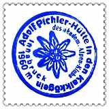 Hüttenstempel, Adolf Pichler Hütte