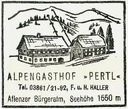 Aflenzer Bürgeralpe Hüttenstempel