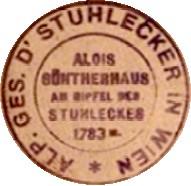 Hüttenstempel Alois Güntherhaus