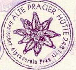 Hüttenstempel Alte Prager Hütte