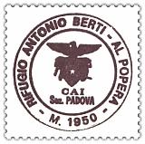 Hüttenstempel Antonio Berti Hütte