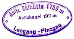 Hüttenstempel, Asitzkogel
