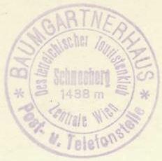 Hüttenstempel, Baumgartnerhaus