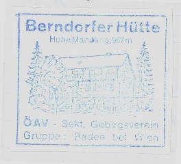 Berndorfer Hütte