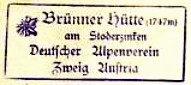 Brünner Hütte