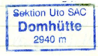 Domhütte