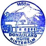 Donaulandhütte