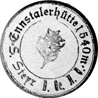 Ennstaler Hütte, Hüttenstempel