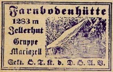 Farnbodenhütte Hüttenstempel