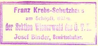 Franz Krebs Schutzhaus