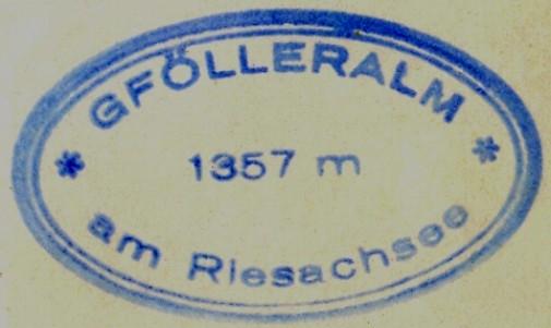 Hüttenstempel, Gfölleralm