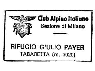 Giulio Payer, Rifugio
